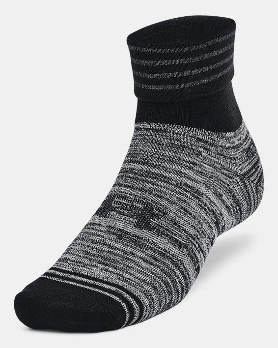 Unisex UA Essential Hi Lo Socks 2-Pack, Black, pdpMainDesktop image number 2