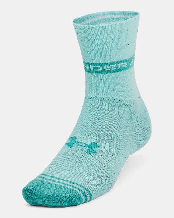 Unisex UA Essential Hi Lo Socks 2-Pack, Green, pdpMainDesktop image number 1
