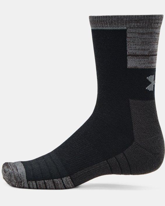 Unisex UA Cold Weather Crew Socks 2-Pack, Black, pdpMainDesktop image number 3
