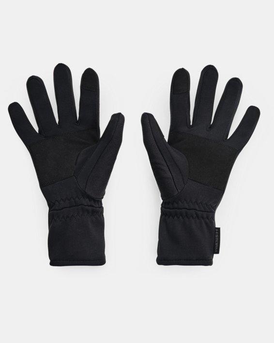 Women's UA Storm Fleece Gloves, Black, pdpMainDesktop image number 1