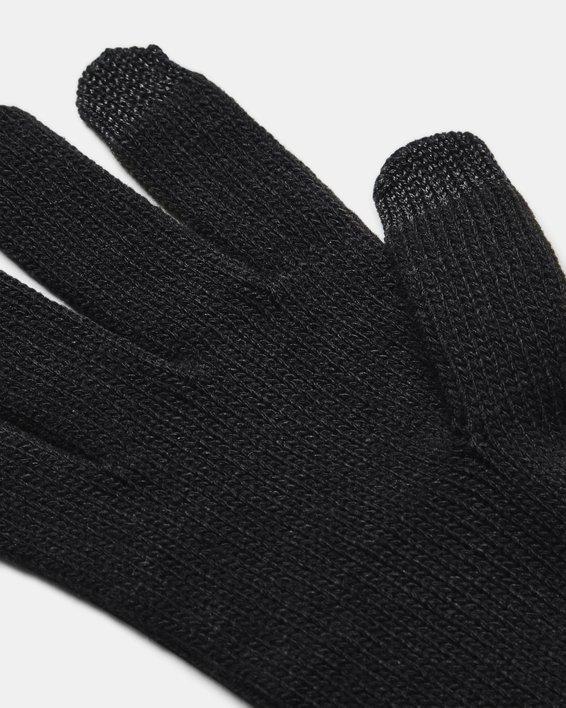 Women's UA Around Town Gloves, Black, pdpMainDesktop image number 2