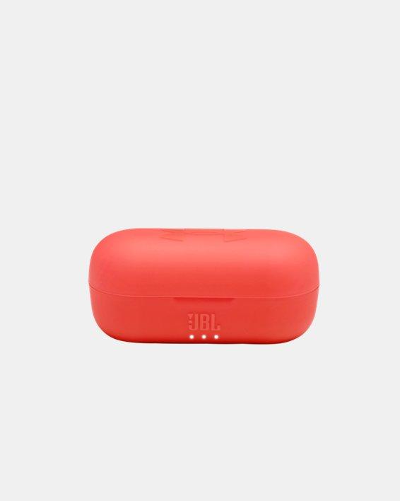 UA True Wireless Streak Headphones, Red, pdpMainDesktop image number 4
