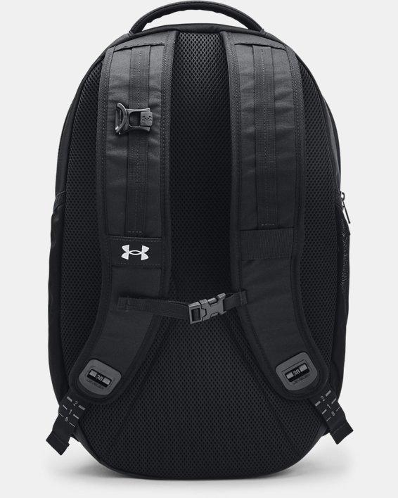 UA Hustle Pro Backpack, Black, pdpMainDesktop image number 1