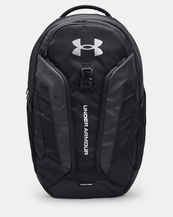 UA Hustle Pro Backpack, Black, pdpMainDesktop image number 0
