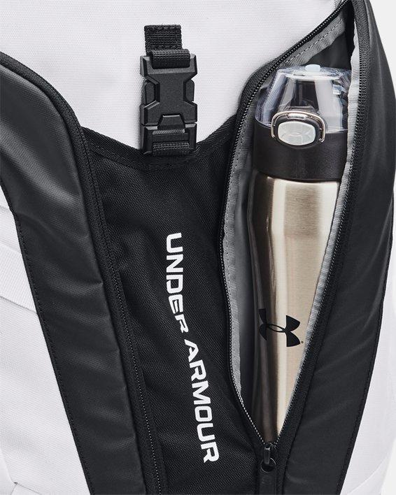 UA Hustle Pro Backpack, White, pdpMainDesktop image number 2