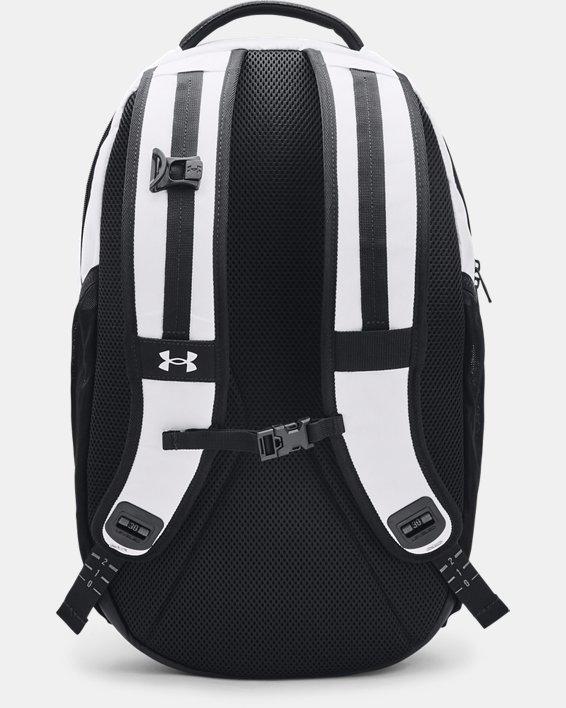 UA Hustle Pro Backpack, White, pdpMainDesktop image number 1