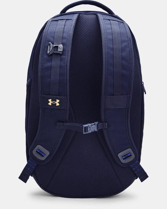 UA Hustle Pro Backpack, Navy, pdpMainDesktop image number 1