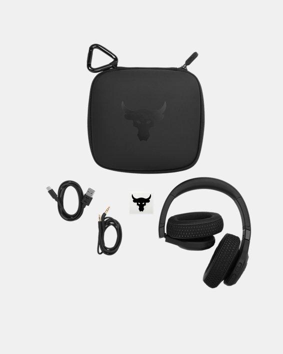 UA Project Rock Over-Ear Training Headphones, Black, pdpMainDesktop image number 6
