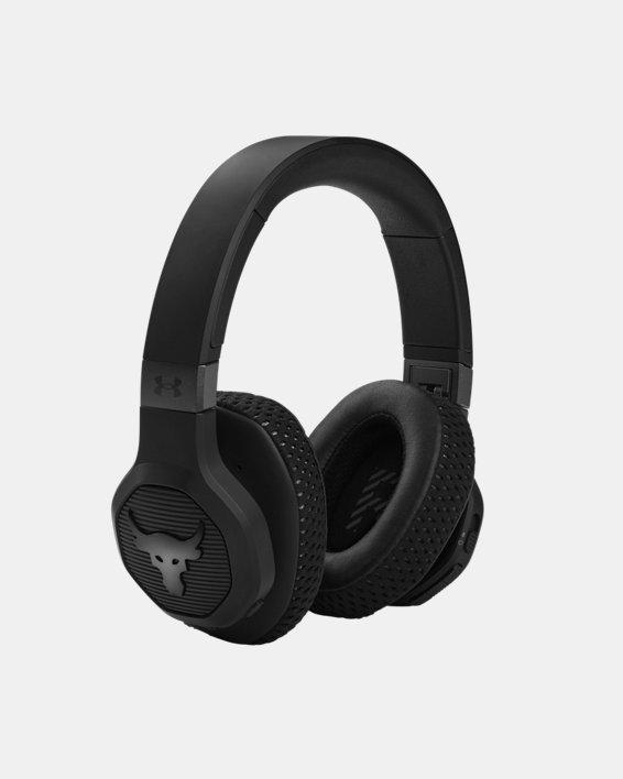 UA Project Rock Over-Ear Training Headphones, Black, pdpMainDesktop image number 2