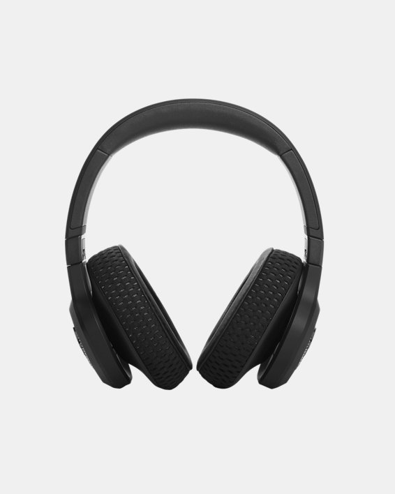UA Project Rock Over-Ear Training Headphones, Black, pdpMainDesktop image number 1