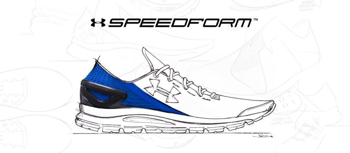 faaa3330c6f Under Armour SpeedForm Shoe Technology