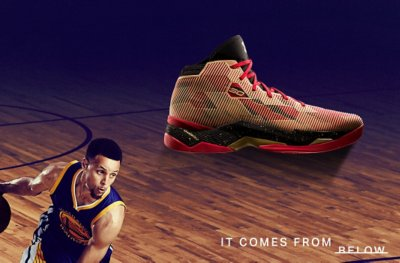 Curry 2.5 - It comes from below.