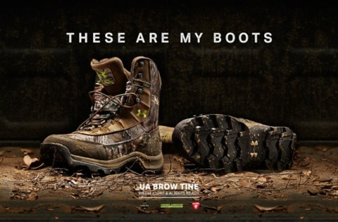 UA Brow Tine - Warm, light & Always Ready.  These are my boots.