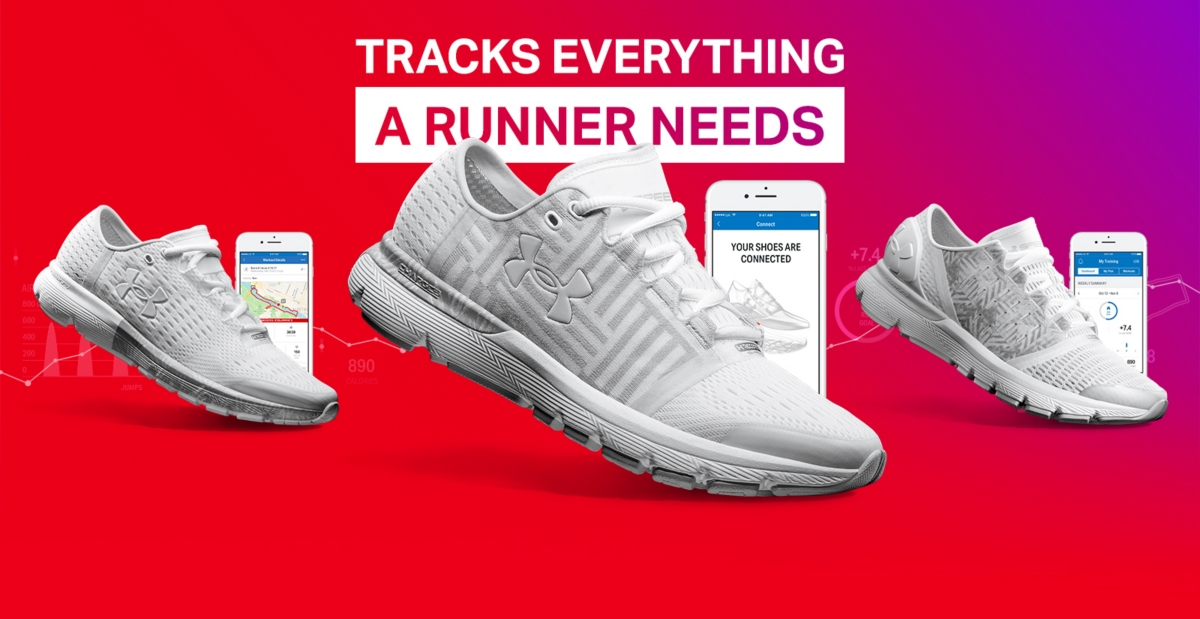 Tracks everything a runner needs. A white velociti ce5c173fd28