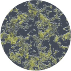 Close up of mossy green and black camo print