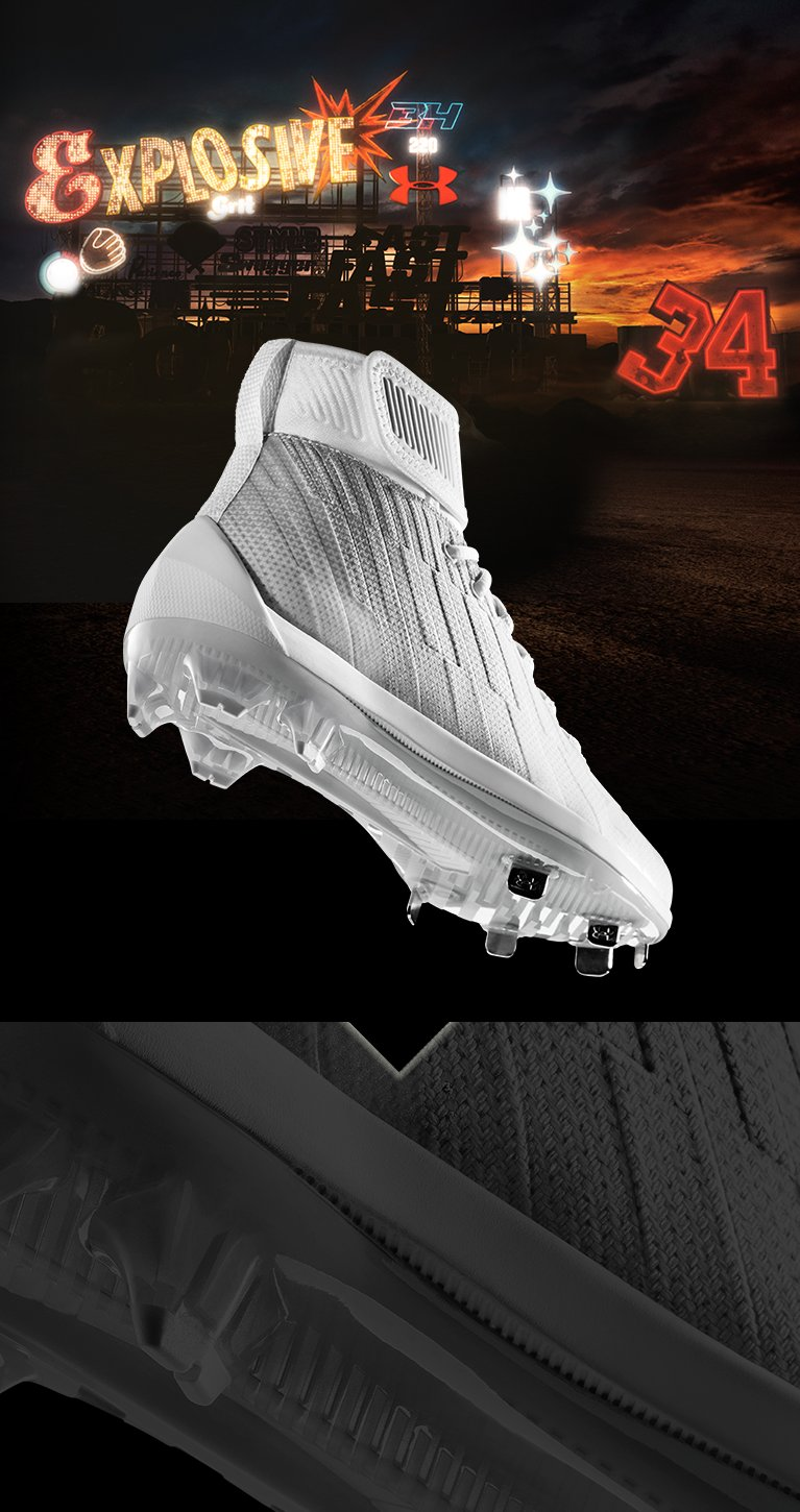 3129fee80bfe Harper 2 Baseball Cleat Bryce Harper | Under Armour US | US