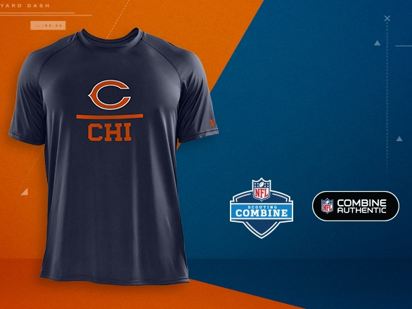 Chicago Bears Gear - NFL Combine  42fb5f6cd