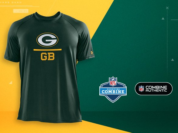 Green Bay Packers Gear - NFL Combine  84856d197
