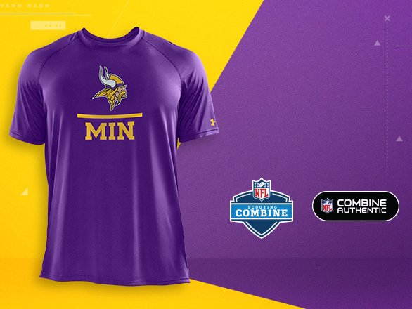 Minnesota Vikings Gear - NFL Combine  39d3be2ba