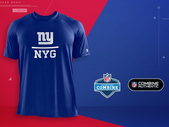 New York Giants Gear - NFL Combine  58a02fcff