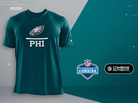 Philadelphia Eagles Gear - NFL Combine  c2d216c35830