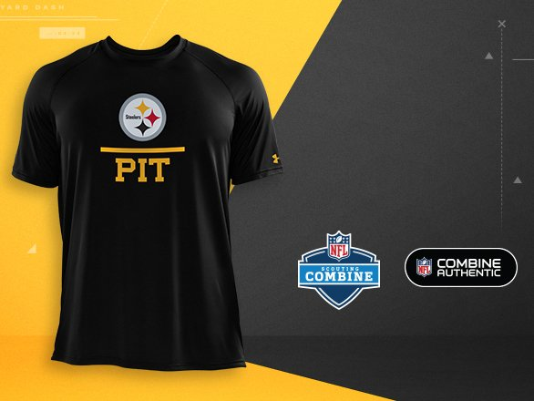 Pittsburgh Steelers Gear - NFL Combine  0faf729c1