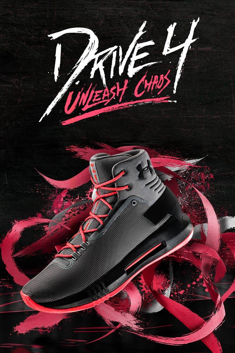 Men's UA Drive 4 Basketball Shoes