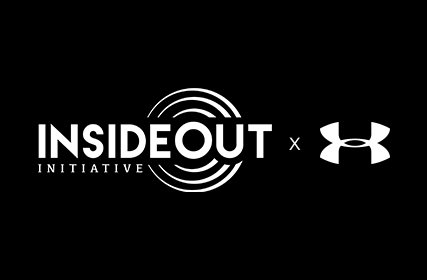 Insideout initiative logo x Under Armour logo