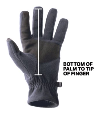 Gloves Fit Guide