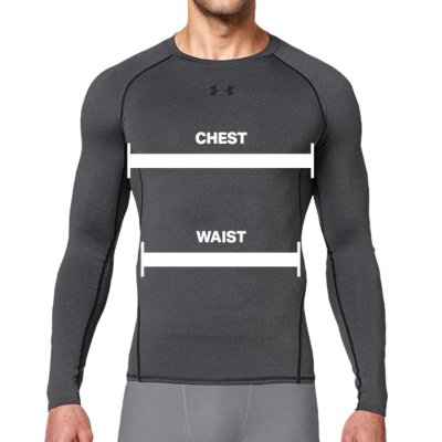Men s UA HeatGear® Armour Long Sleeve Compression Shirt  02e85943912