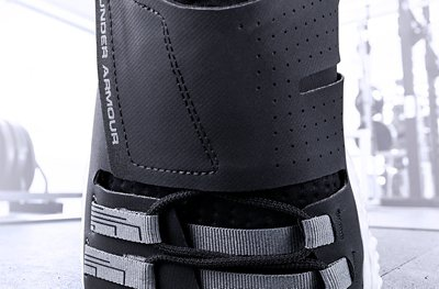 Product shot of the UA Architech Reach Training Shoes showing breathable upper & lacing system