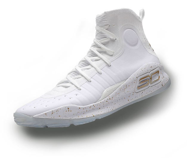 White Curry Shoes Boys