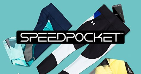 Ropa de running Speedpocket