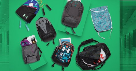 UA BAGS AND BACKPACKS