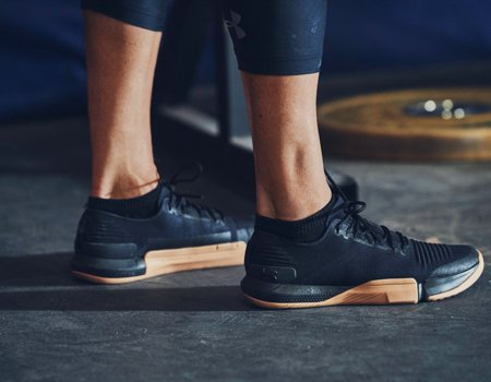 27e9f07bbdbe9 GRIPPIER TRACTION An extra sticky outsole gives you a strong bite and  reduced rubber under the toes helps to amplify floor-feel.
