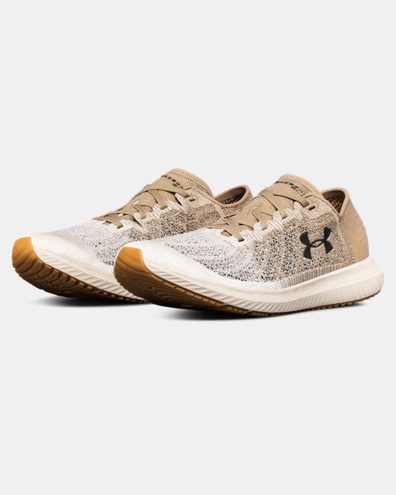 Chaussures de course UA Threadborne Blur pour homme, Brown, pdpMainDesktop image number 4