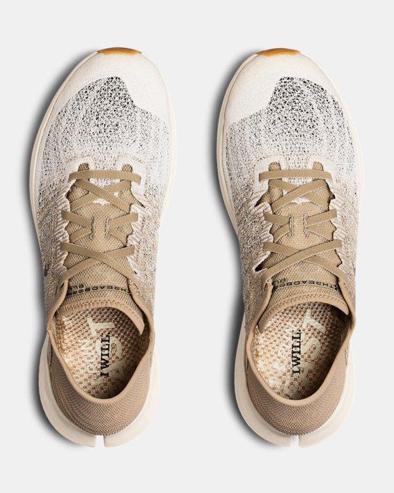 Chaussures de course UA Threadborne Blur pour homme, Brown, pdpMainDesktop image number 3