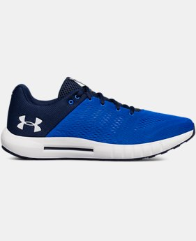 Men's UA Micro G® Pursuit Running Shoes LIMITED TIME: FREE SHIPPING 1  Color Available $85