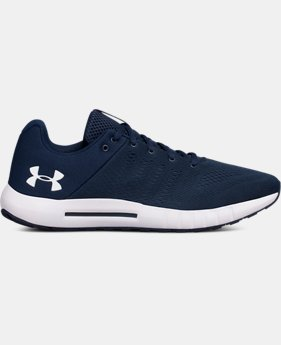 Best Seller Men's UA Micro G® Pursuit Running Shoes  1  Color Available $70