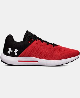 Best Seller Men's UA Micro G® Pursuit Running Shoes  1  Color Available $59.99 to $70