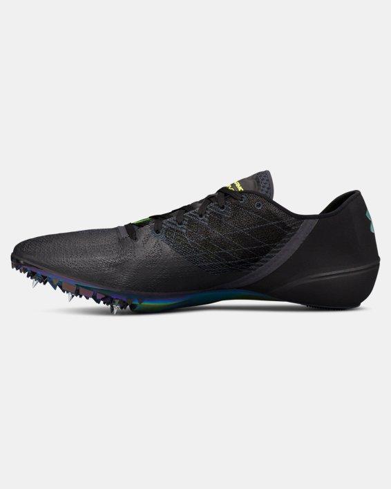 UA SpeedForm® Sprint 2 Track Spikes, Black, pdpMainDesktop image number 1
