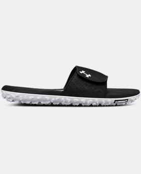 Men's UA Fat Tire Slides  1  Color Available $80