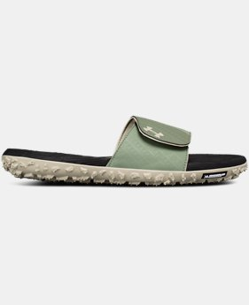 New Arrival Men's UA Fat Tire Slides  2 Colors $65