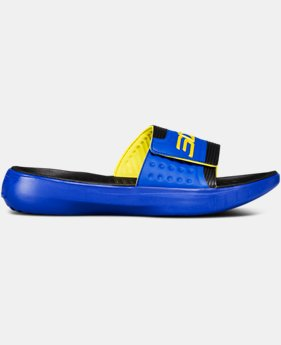 New Arrival Men's UA Curry 4 Slides  1 Color $50