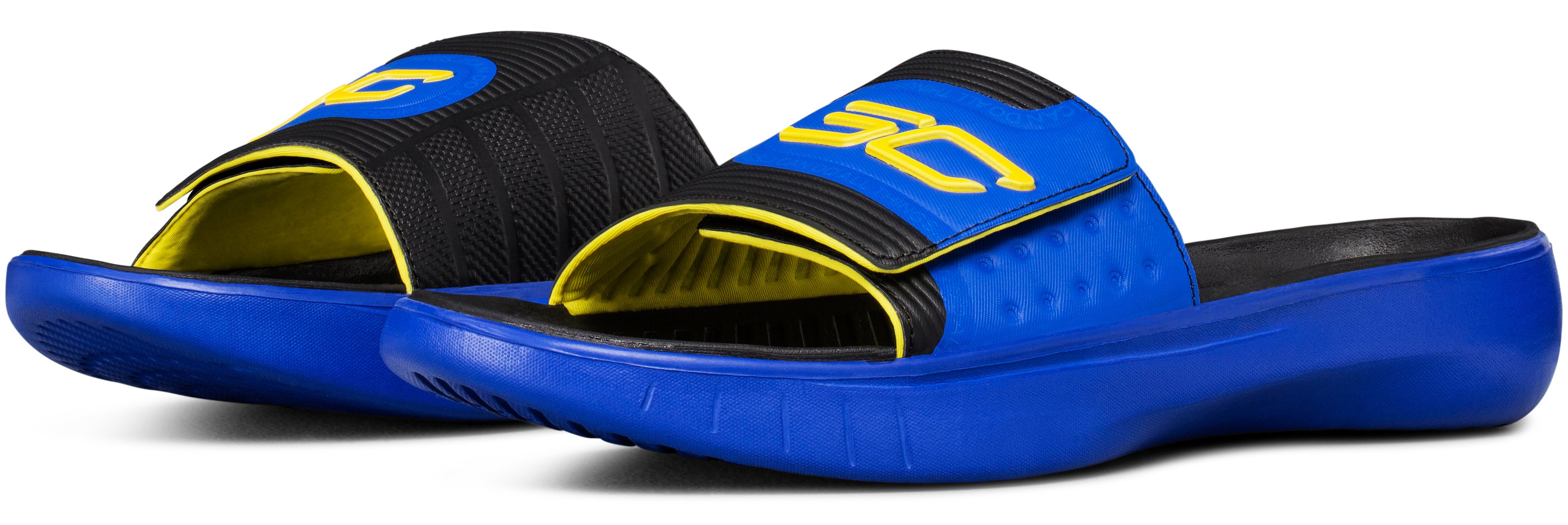 Men's UA Curry 4 Slides, TEAM ROYAL, undefined