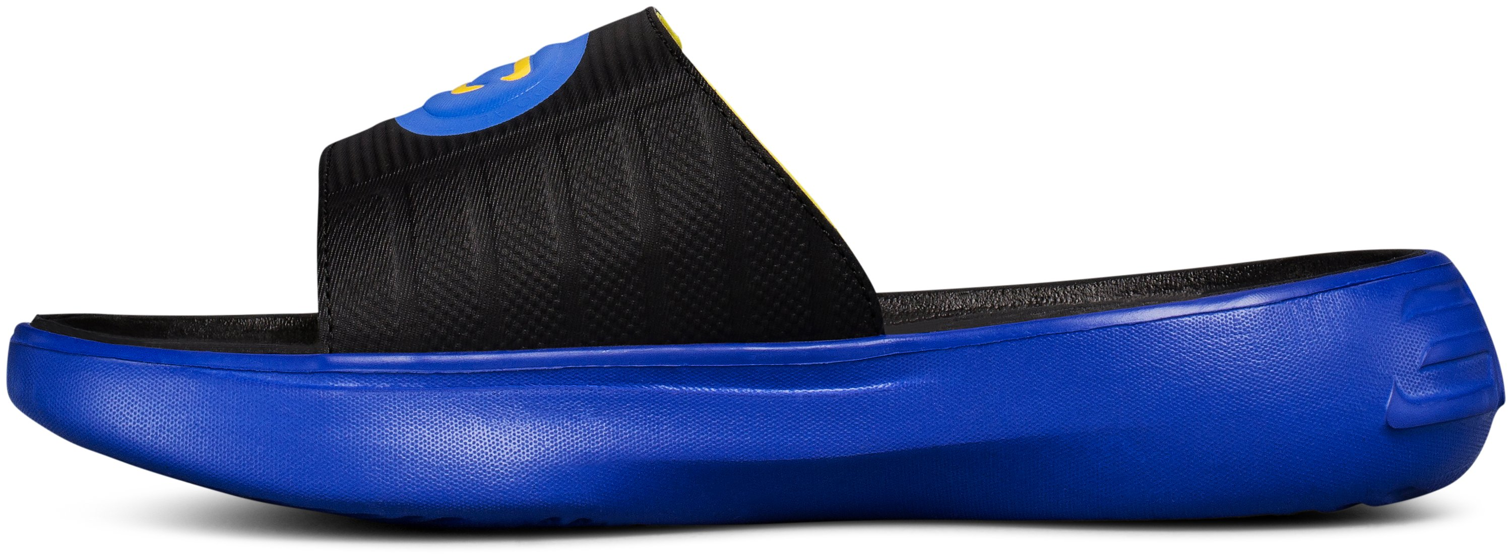 Boys' UA Curry 4 Slides, TEAM ROYAL, undefined