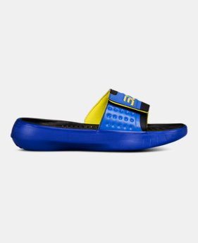 6c031e70c69 Boys  UA Curry 4 Slides 1 Color Available  40