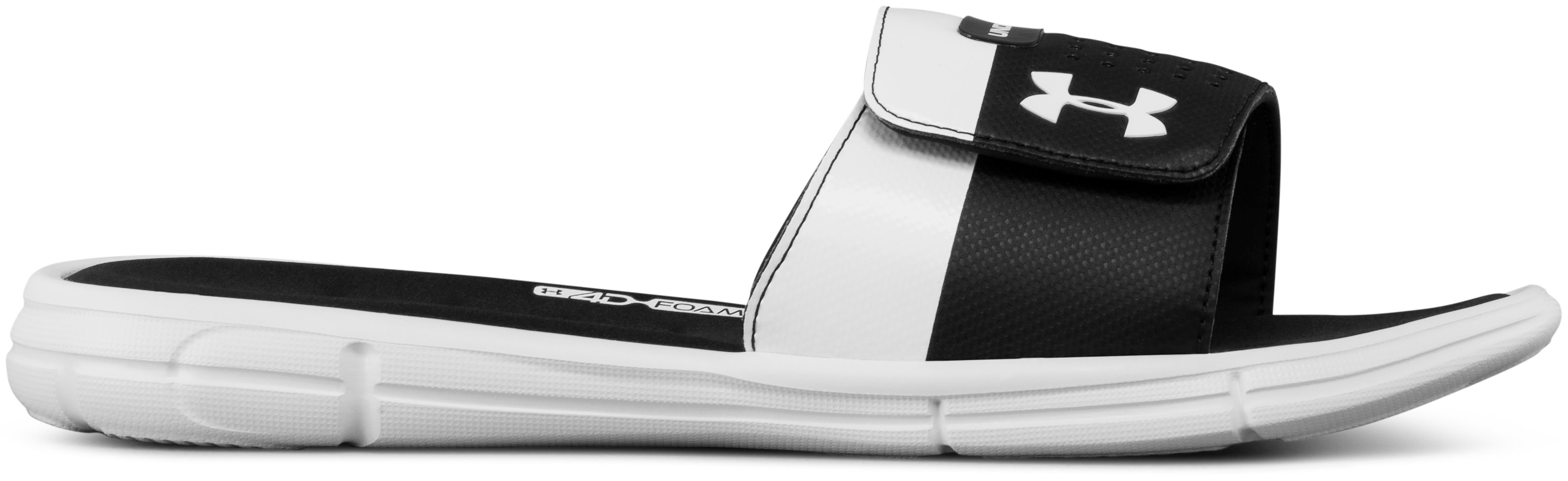 Men's UA Mercenary IX Slides, White