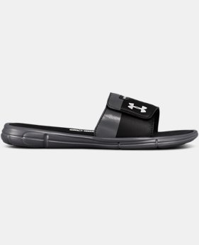 Men's UA Mercenary IX Slides  1  Color Available $40