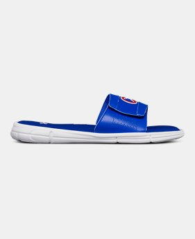 9e5928f58e5 Men s UA Ignite V MLB Slides 4 Colors Available  29.99